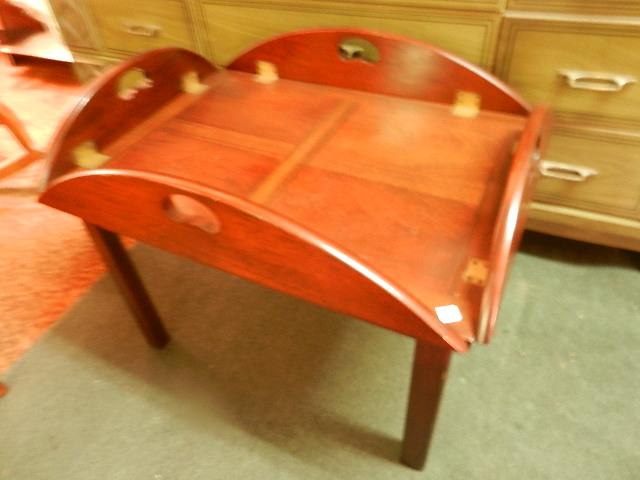 Dark Oak Butler table