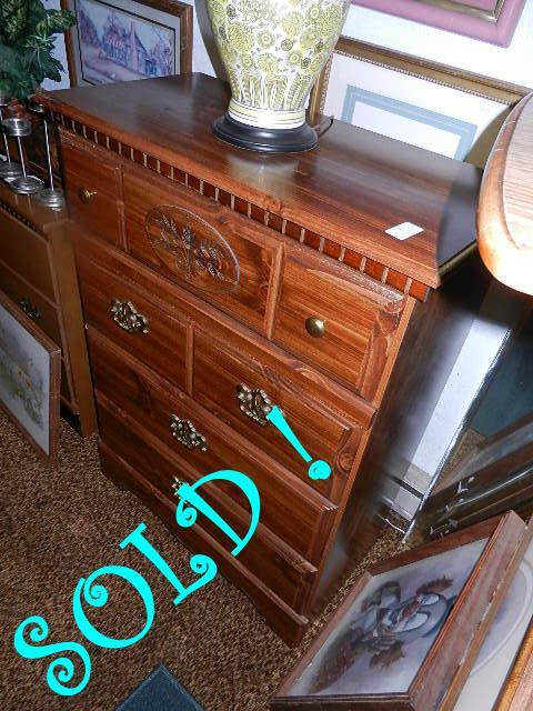 Dark Oak Dresser