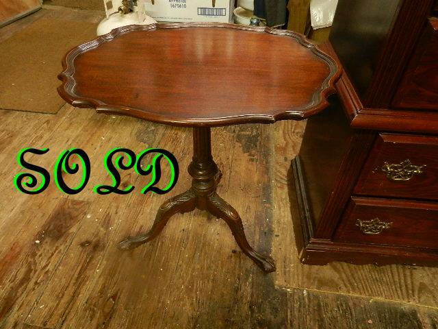 Antique Pie Table