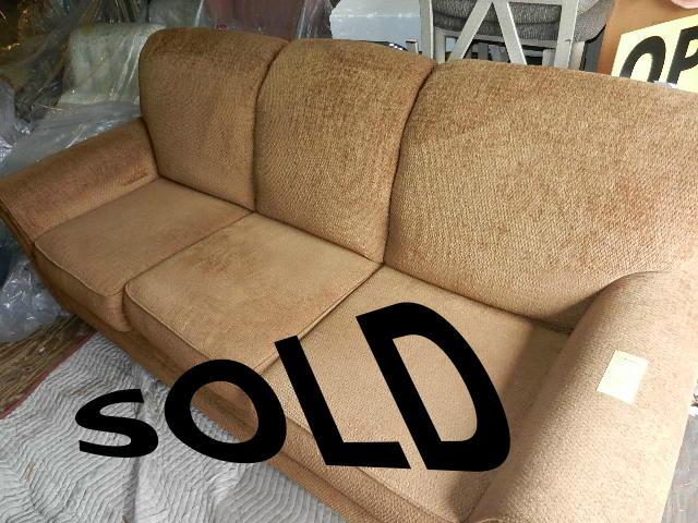 Brown Sofa. - Excellant shape $139
